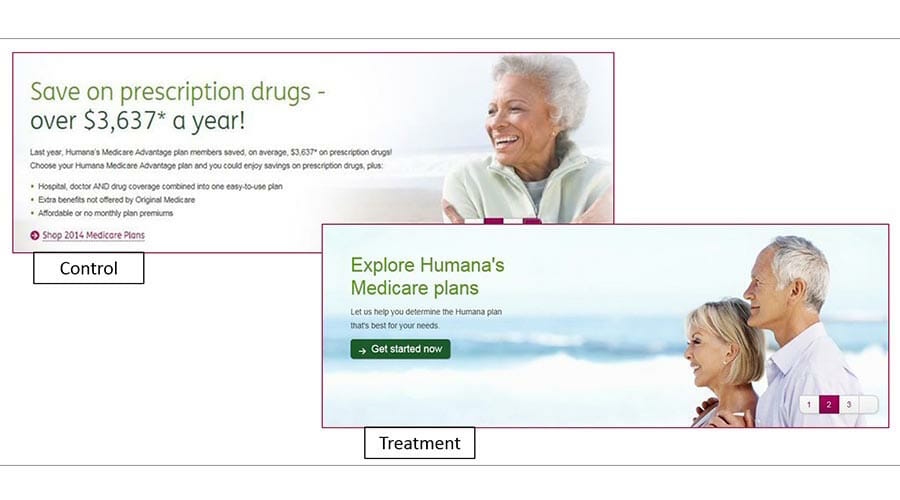 Humana Banner Ads screenshot