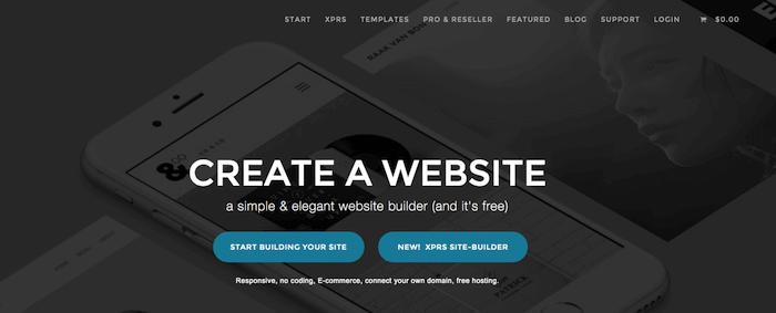 Creare un blog o un sito web gratis con IMCreator