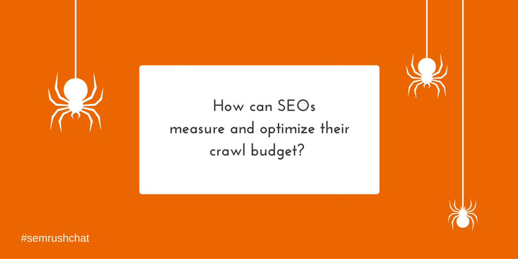 Measuring and optimizing crawl budget
