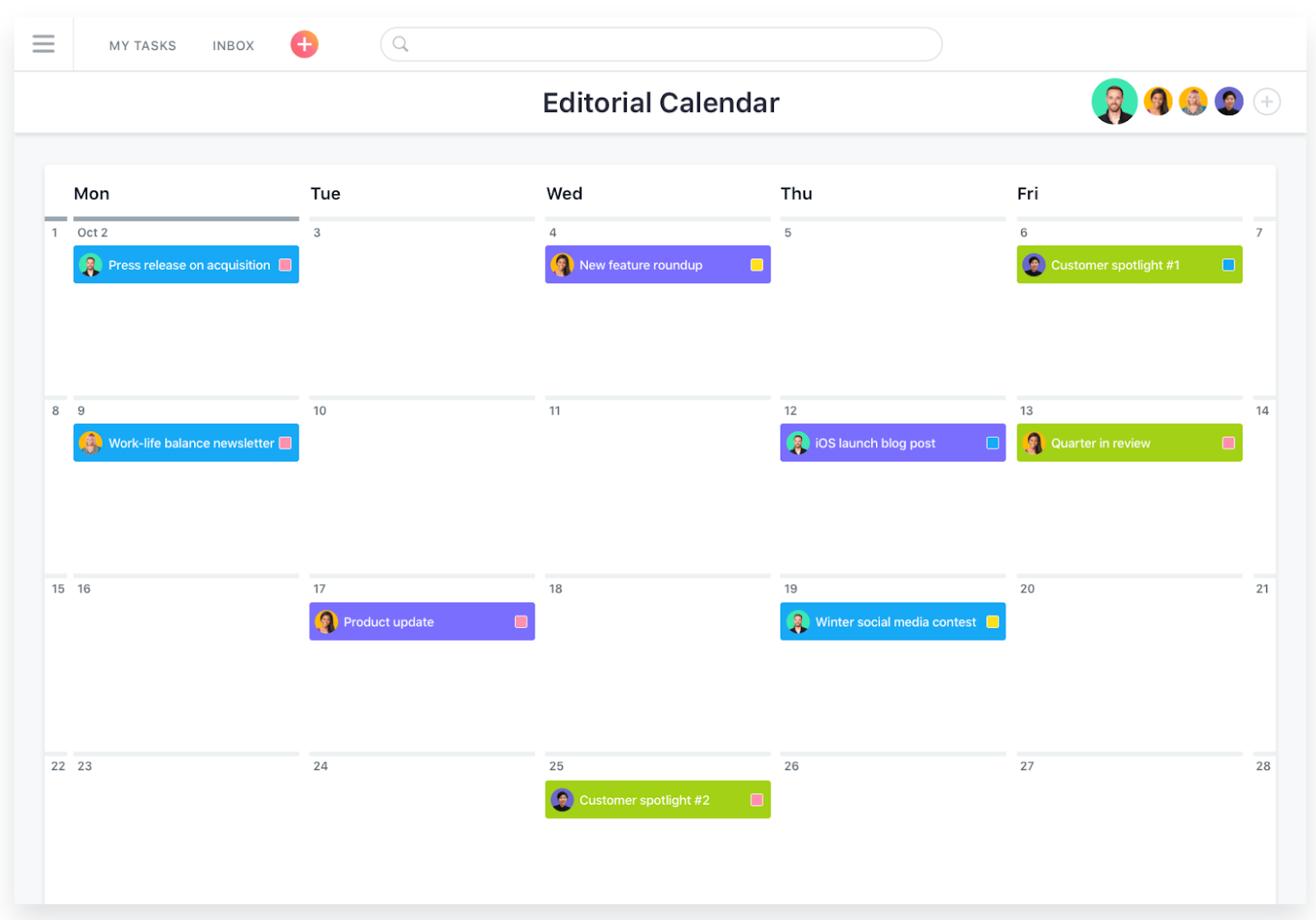 Project Management Tools for Agencies: Asana