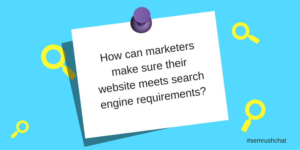 Search optimization requirements