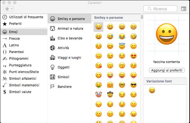 Web copywriting ed emoji