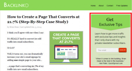 How To Easily Generate More Leads From Your Blog. Image 0