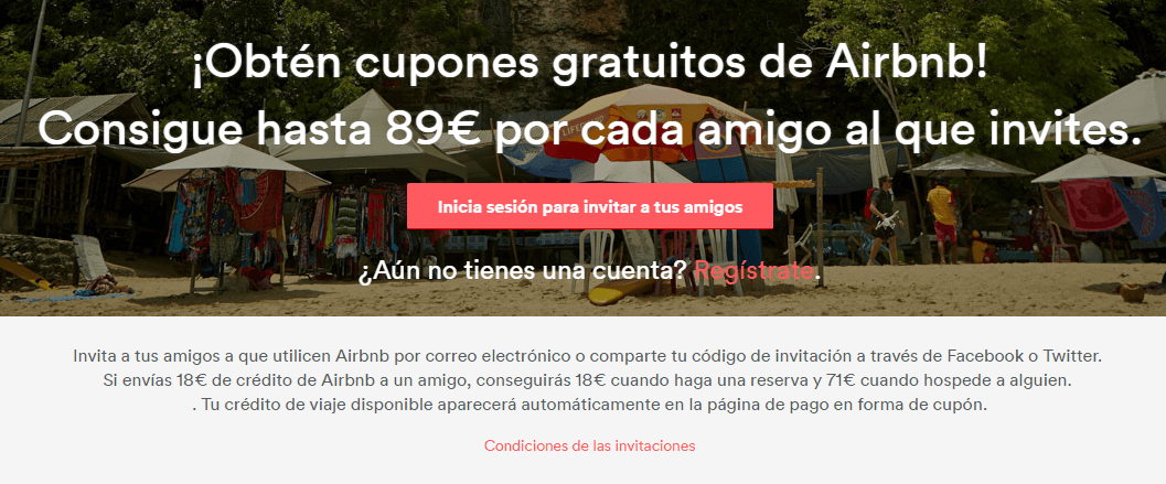 Marketing de recomendación Ejemplo Airbnb