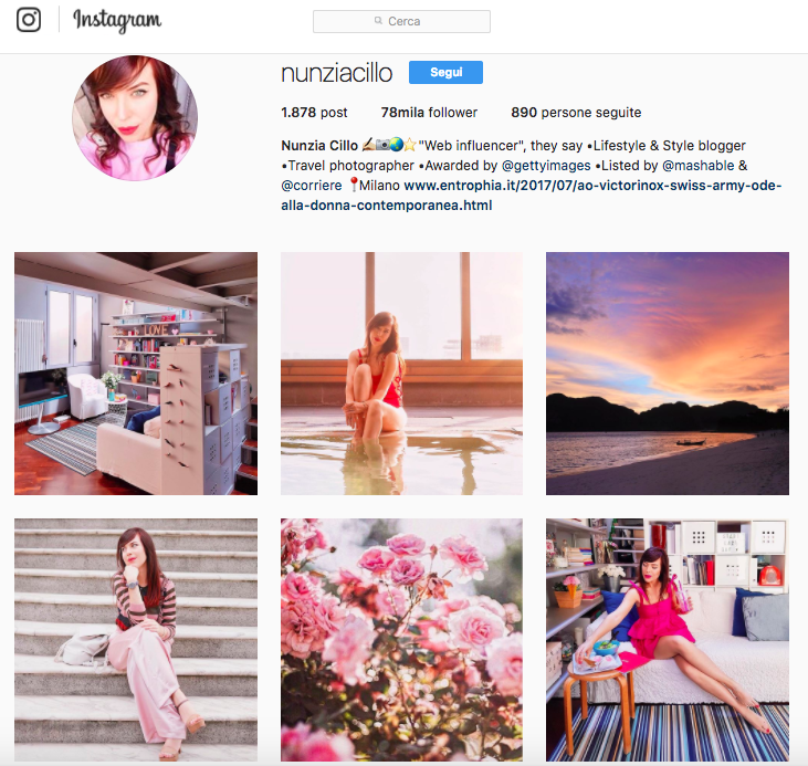Nunziacillo: account Instagram da seguire