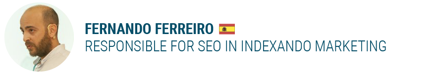 Fernando Ferreiro Responsible for SEO in Indexando Marketing