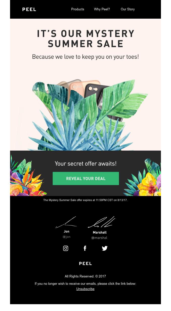 Email marketing estivo: il copy che aiuta