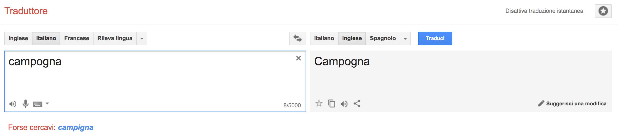 Cosa capisce Google Translate?