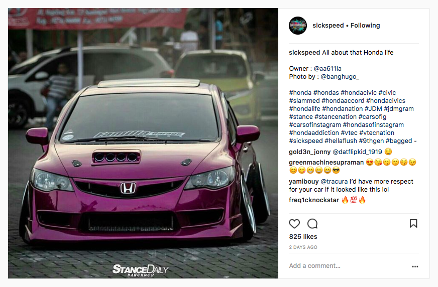 @seekspeed knows the rocket science of how to use hashtags on Instagram