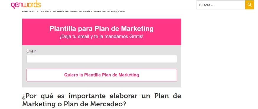 Personalización en marketing - Plantilla Hubspot