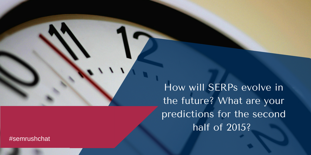 How will SERPs evolve in future?