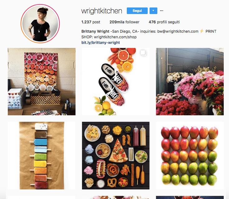 In cerca di profili Instagram interessanti? Guarda l'account di Wrightkitchen