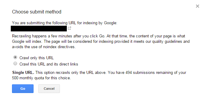 Google nofollow test