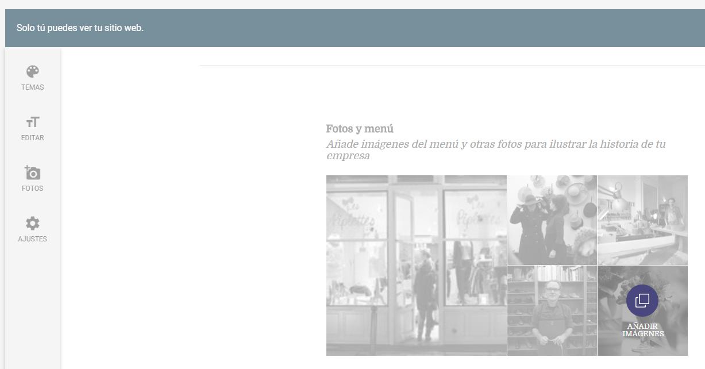 Novedades de Google My Business - Añade imágenes para tu web