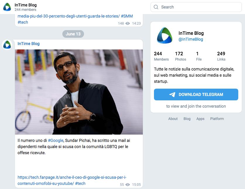 Non perderti il canale di Franz Russo su Telegram: ci sono le news del settore