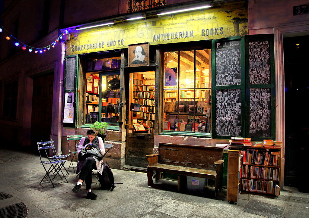 Shakespeare-book-shops