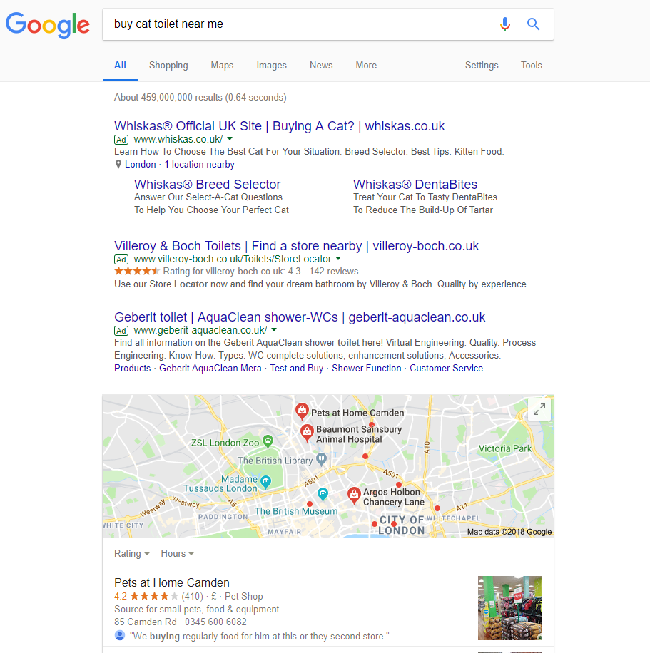 Search results for 'buy cat toilet near me'