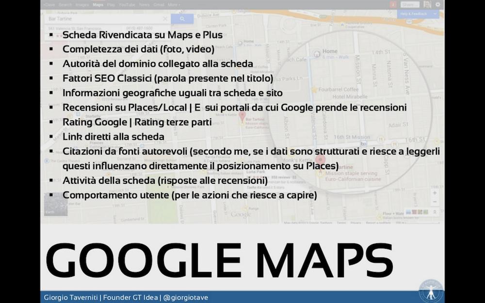 SERP di Google: come ottimizzare Maps per comparire nelle ricerche