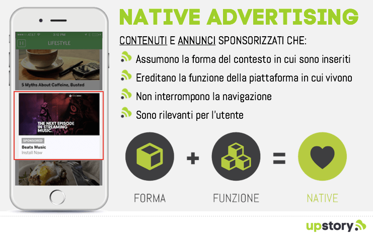 Native advertising: caratteristiche