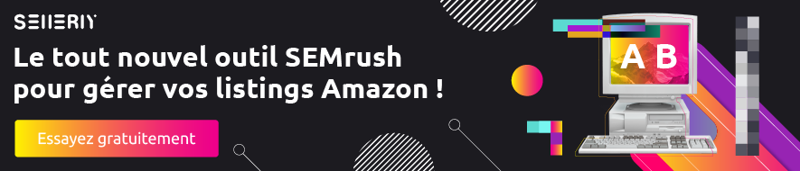 SELLERY, L'outil SEMrush pour Amazon