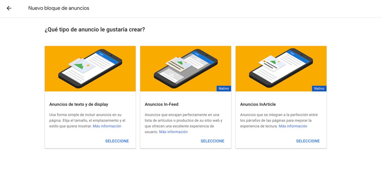 Qué es Google Adsense - Tipos de anuncios y ubicaciones