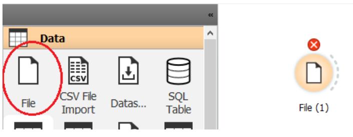 Come importare i dati nel software Orange