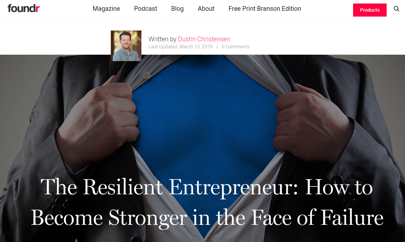 building resilience article