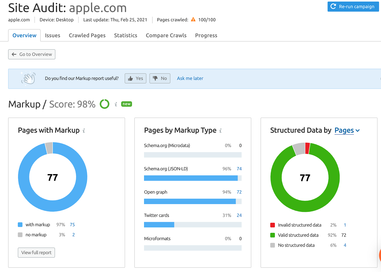 site audit tool apple.com
