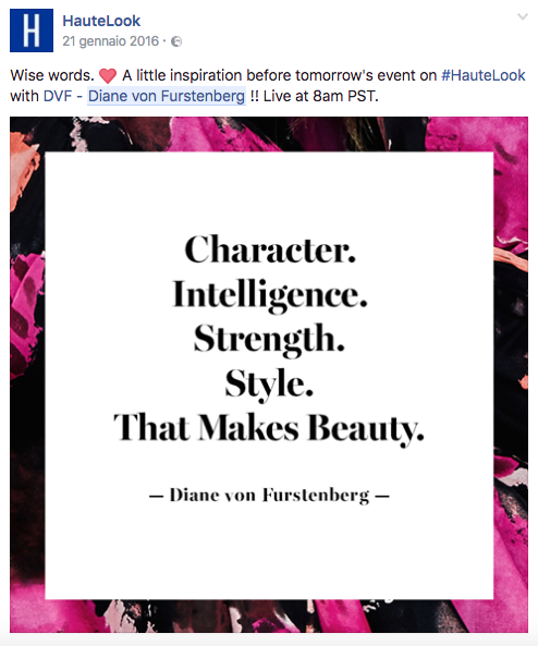 Facebook Ads per un ecommerce: case study 1