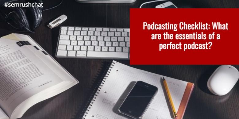 Podcasting Checklist