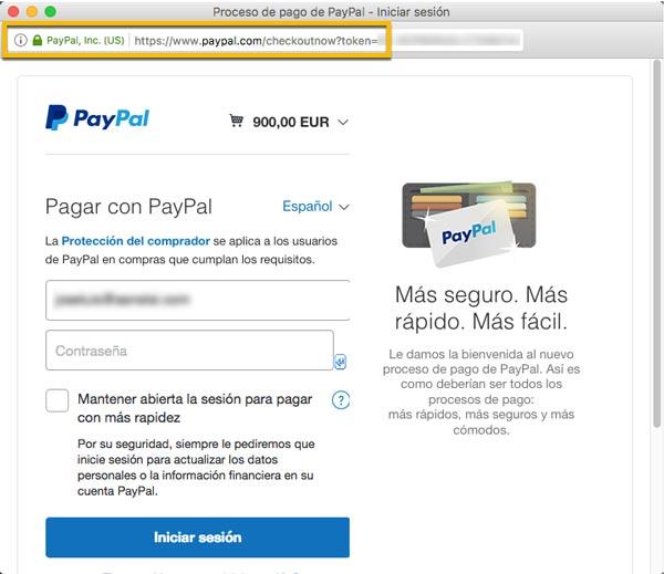 Certificado SSL PayPal