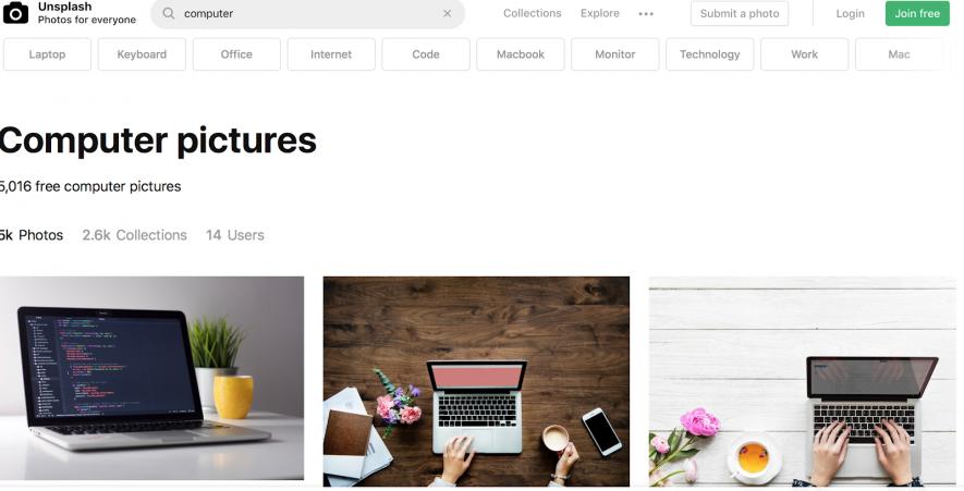 Usa l'editor online per modificare immagini non soggette a copyright