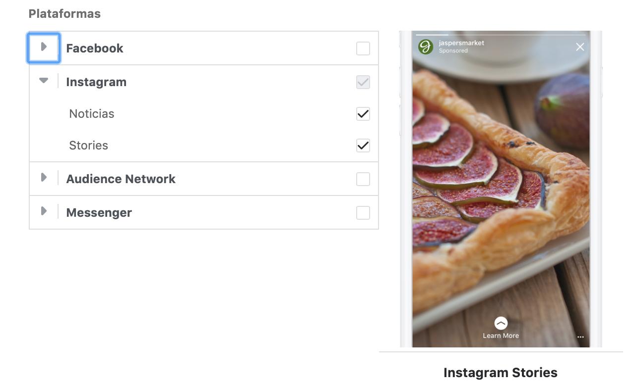 Instagram Ads - requisitos de diseño
