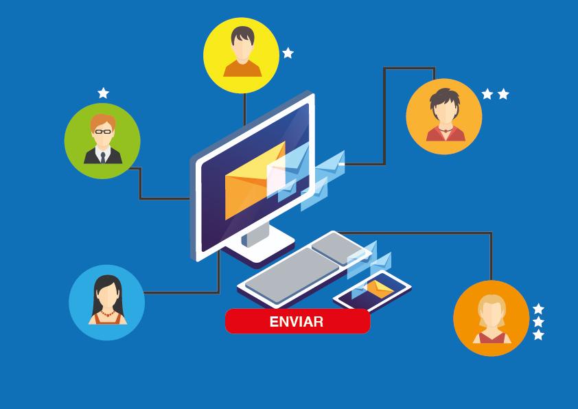 Email marketing y CRM - gestión de la base de datos