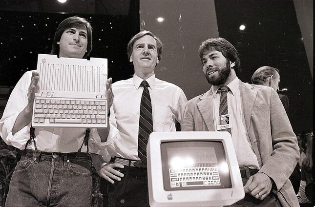 40 anni di Apple: la presentazione di Apple2