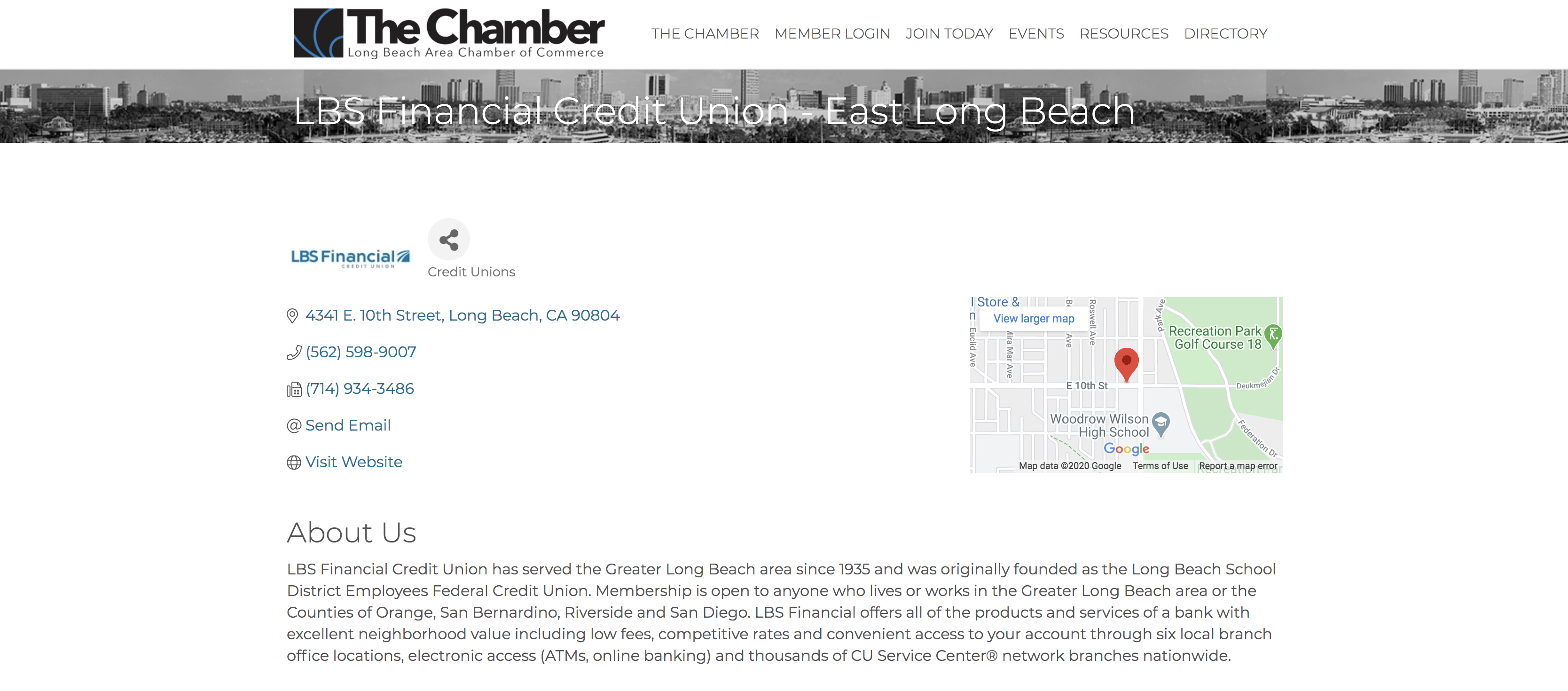 Long Beach Chamber of Commerce Directory