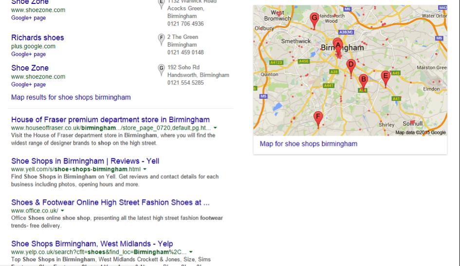 shoe-shops-serps