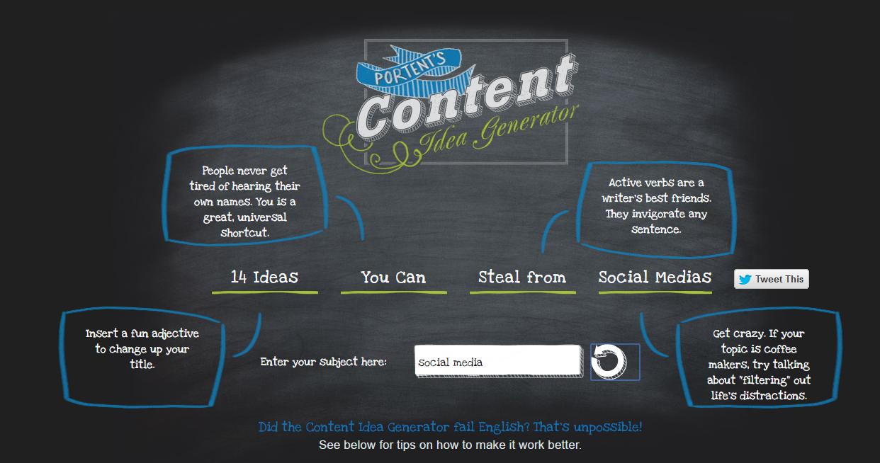Tattiche social: genera titoli efficaci con Portent content