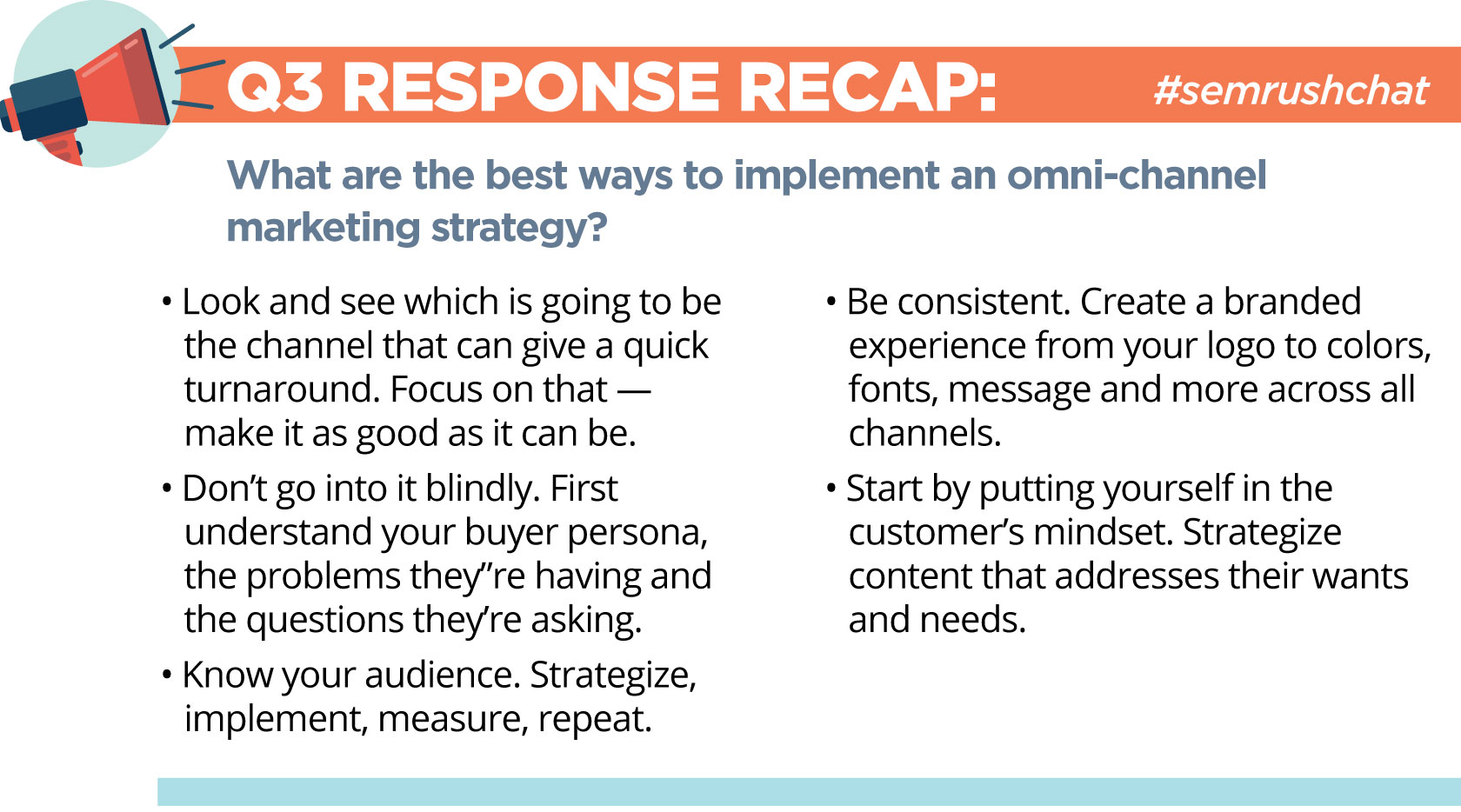 Everything You Need to Know About Omni-Channel Marketing #semrushchat. Image 2