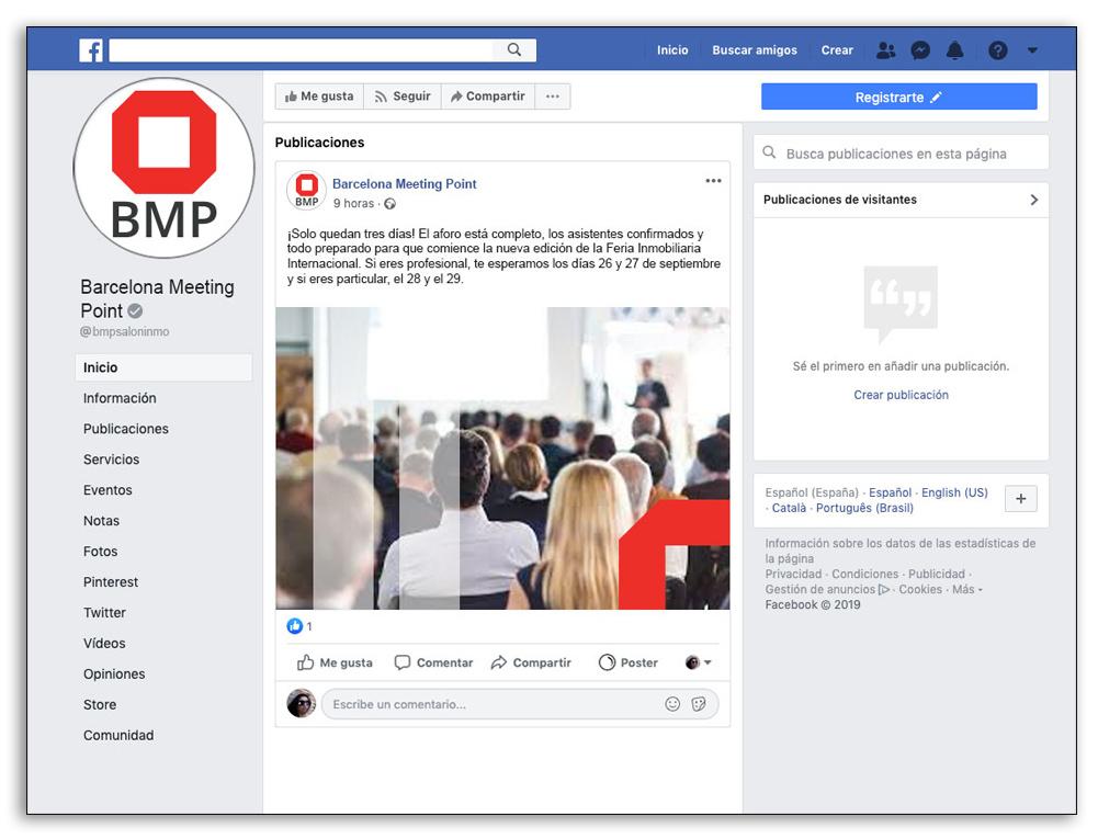 Presencia visual en redes sociales - Crear ejemplos