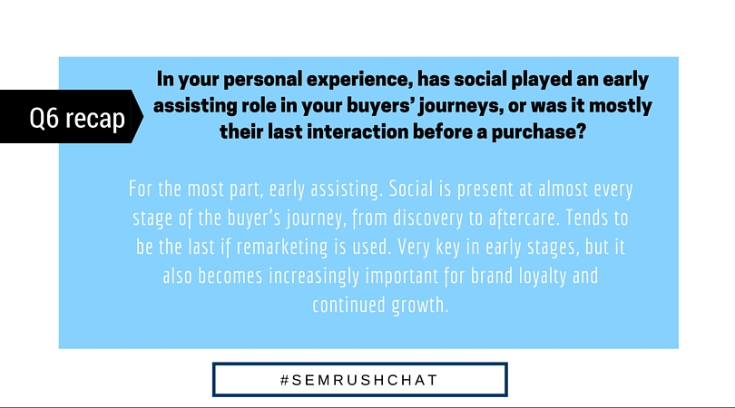 Social Media: A Buyer's Journey #semrushchat. Image 11