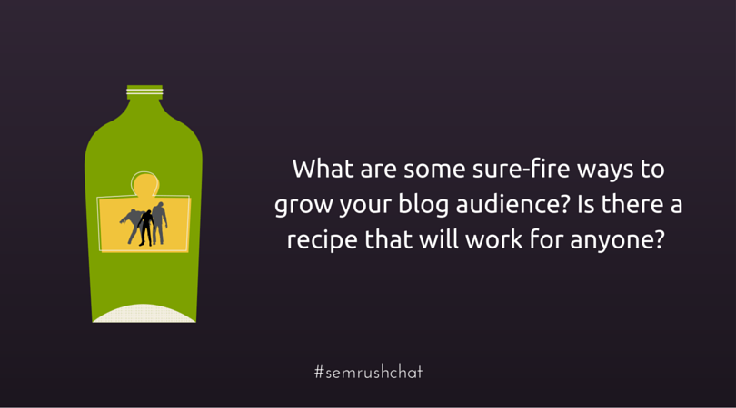 Grow audience of your blog