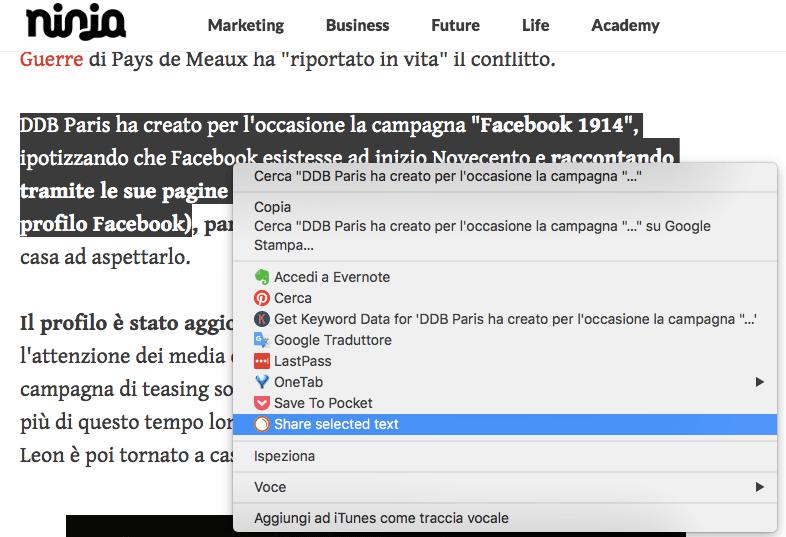 Posta contenuti su Facebook con l'estensione Chrome di Social Media Poster