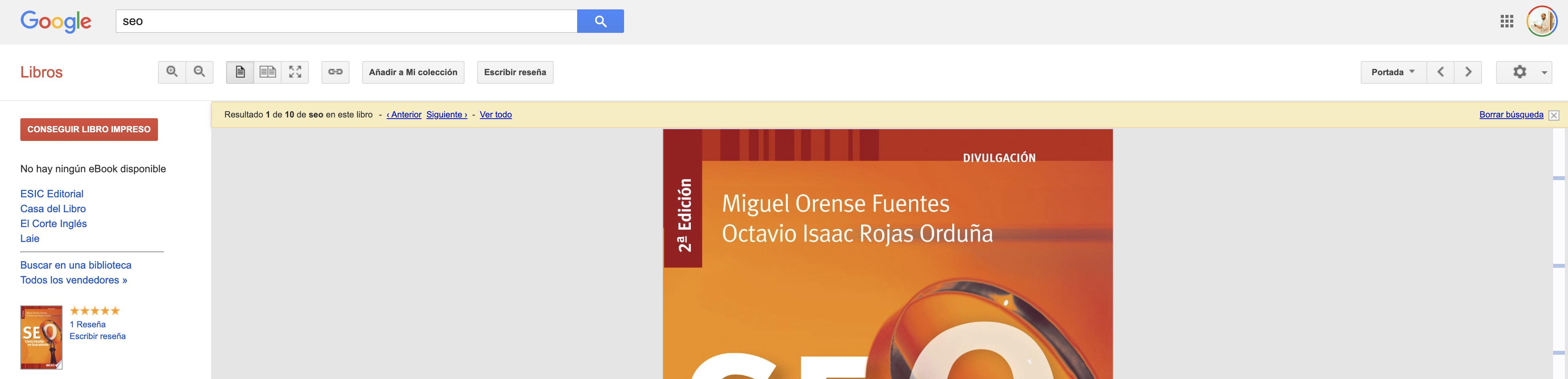 Búsqueda avanzada en Google - Libros