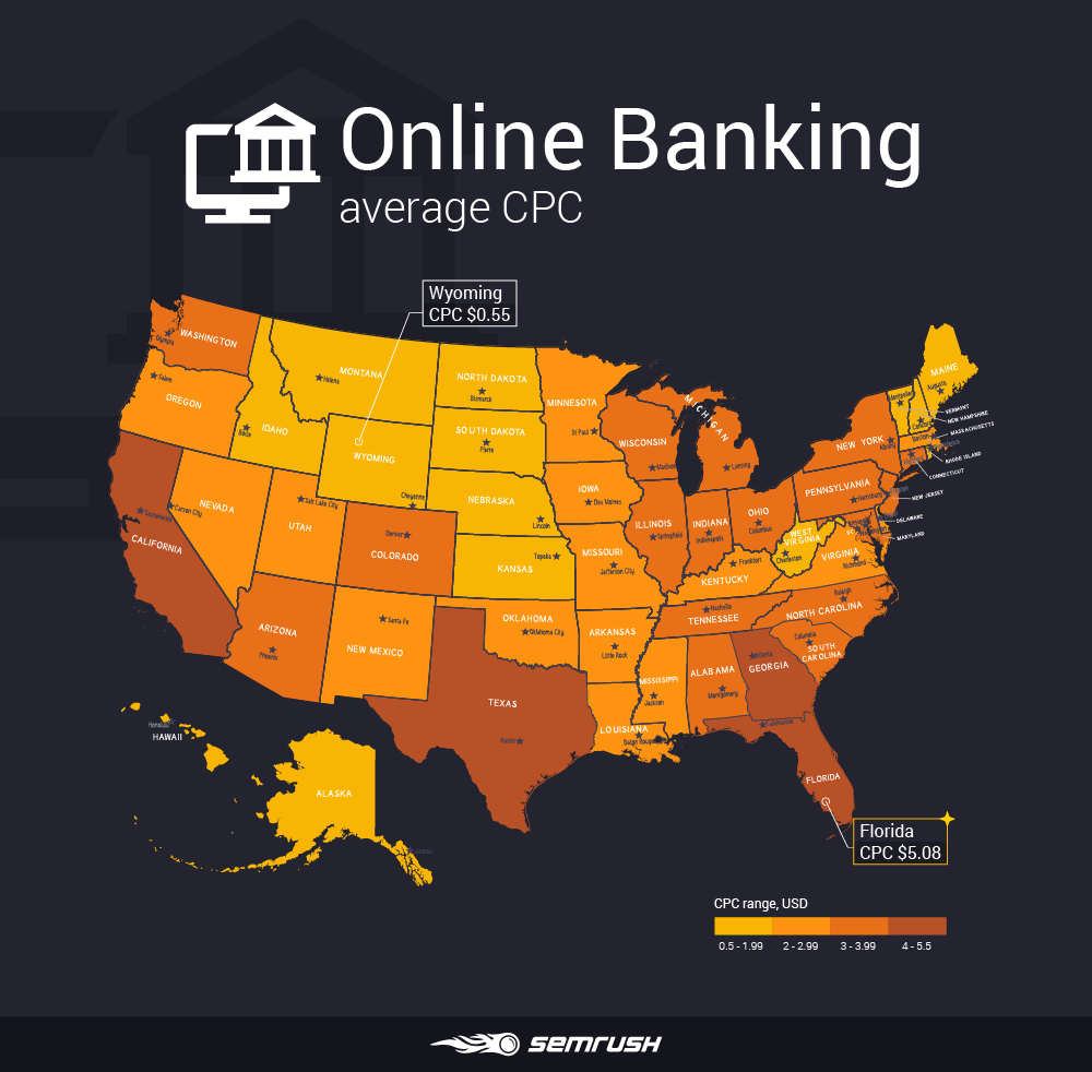 Most and least expensive states to advertise in - Online Banking