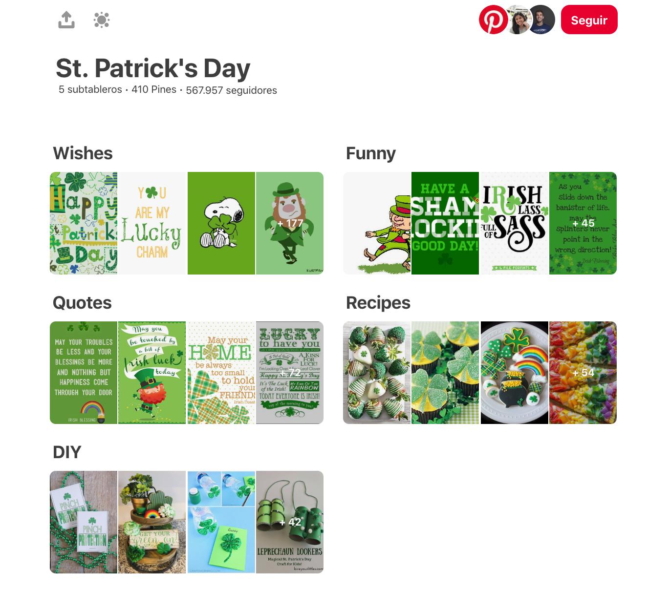 Qué es Pinterest - Subtableros