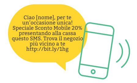 Strategie email e sms marketing estivo: speciale sconto mobile