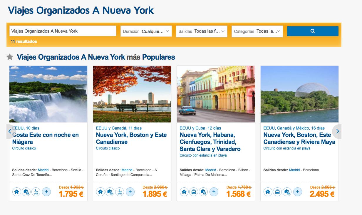 Cómo medir una página web - Agencia de viajes