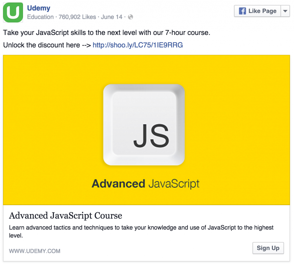 udemy-facebook-ad