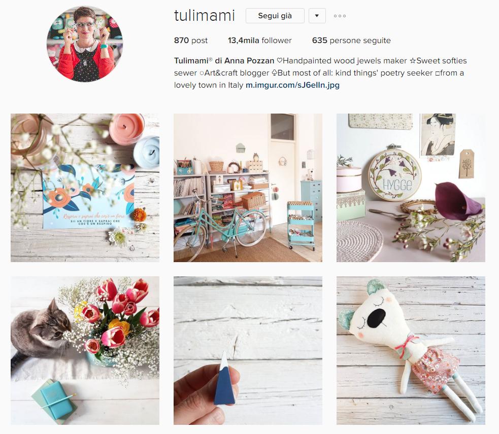 Come promuovere un brand su Instagram: l'esempio di Tulimami